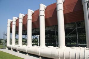 Turano power plant: condenser