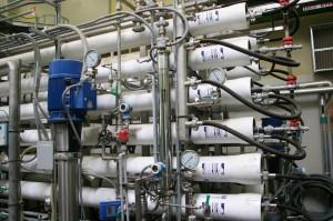 Turano power plant: reverse osmosis